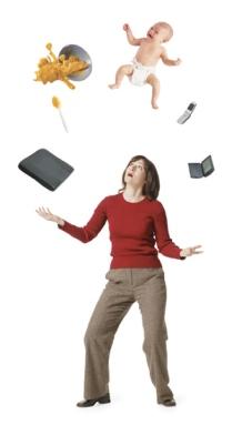 Woman juggling_2